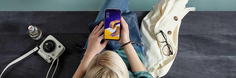 Zenfone 5 topview