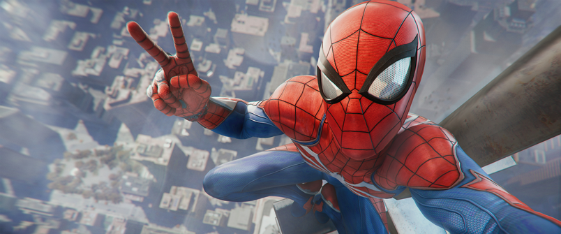 spiderman selfie banner