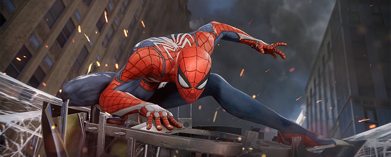 spiderman hero banner